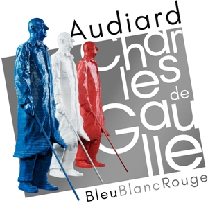 Audiard De Gaulle Bleu Blanc Rouge