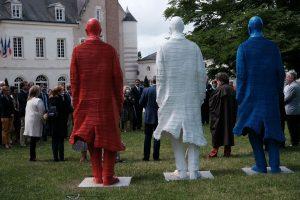Michel Audiard - Stature De Gaulle Bleu Blanc Rouge